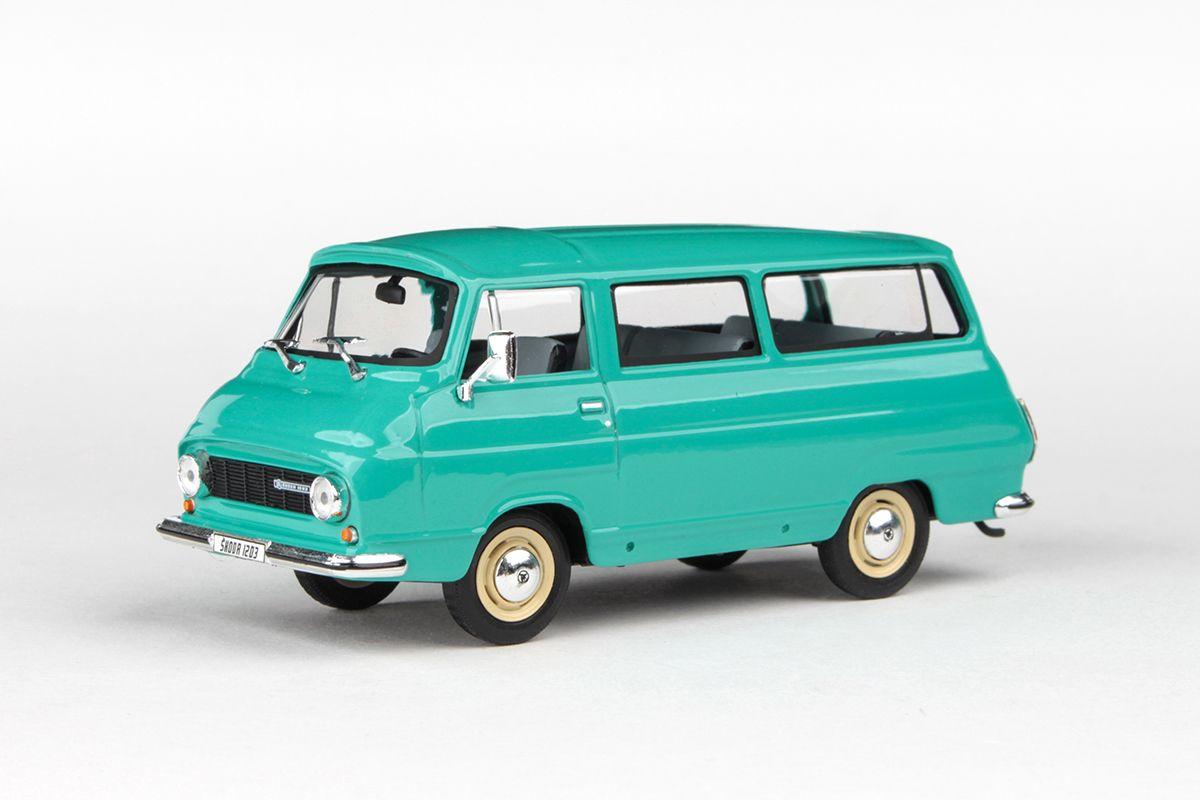 Škoda 1203 (1974) 1:43 - Modrozelená