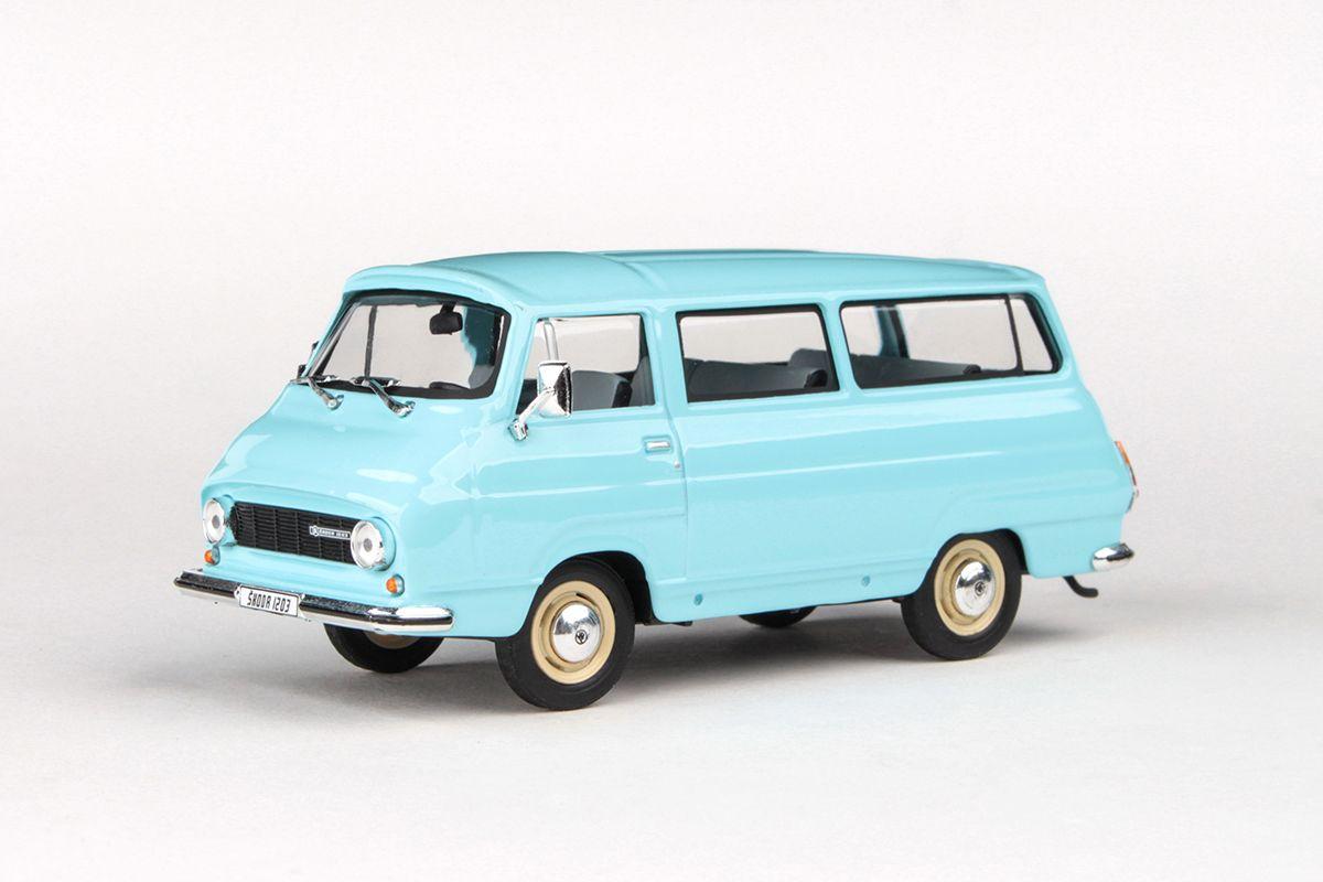 Škoda 1203 (1974) 1:43 - Světle Modrá