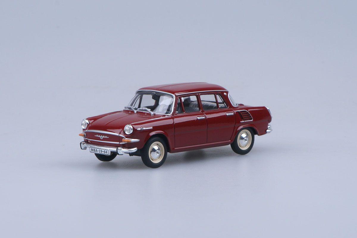 Škoda 1000MB (1964) 1:43 - Červená Rubínová