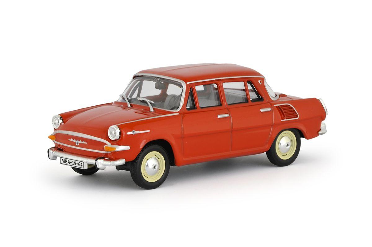 Škoda 1000MB (1964) 1:43 - Červená Oranžová