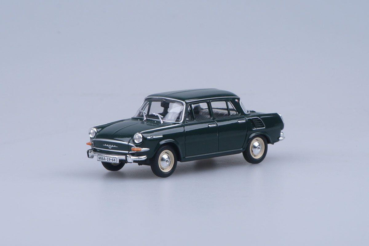 Škoda 1000MB (1964) 1:43 - Zelená Tmavá