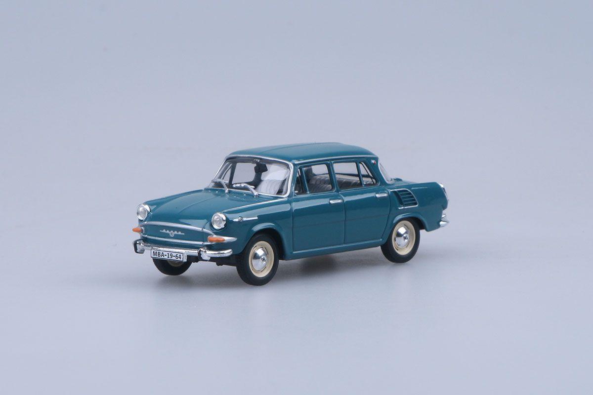 Škoda 1000MB (1964) 1:43 - Modrozelená Tmavá