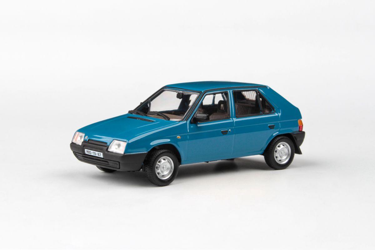 Škoda Favorit 136L (1988) 1:43 - Modrá Škoda