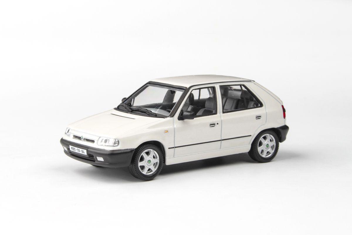Kovový model Škoda Felicia - Bílá