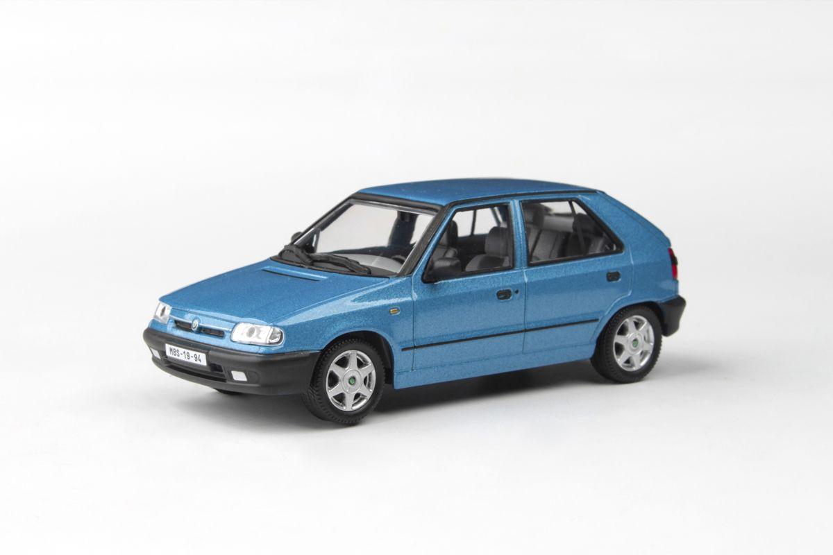 Škoda Felicia (1994) 1:43 - Modrá Laguna Metalíza