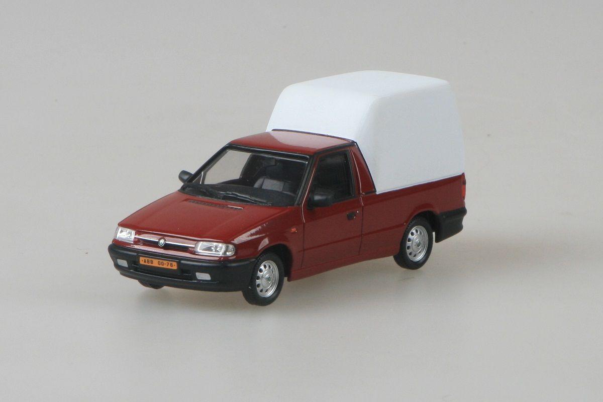 Škoda Felicia Pickup (1996) 1:43 - Červená Romantická