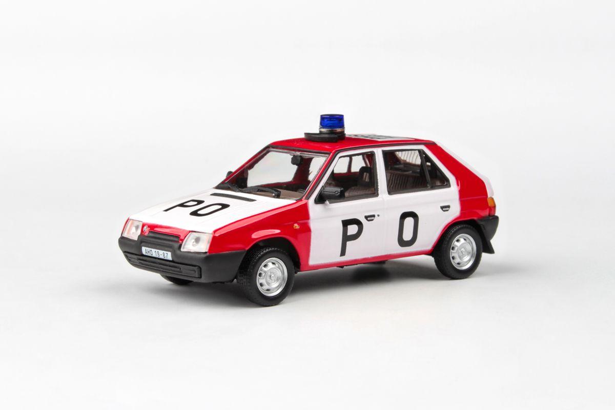 Kovový model Škoda Favorit 136L - Požární Ochrana
