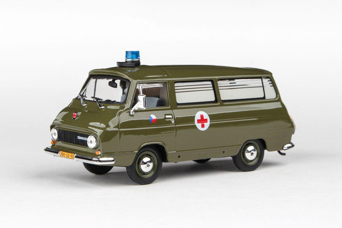Škoda 1203 (1974) 1:43 - Vojenská Sanitka