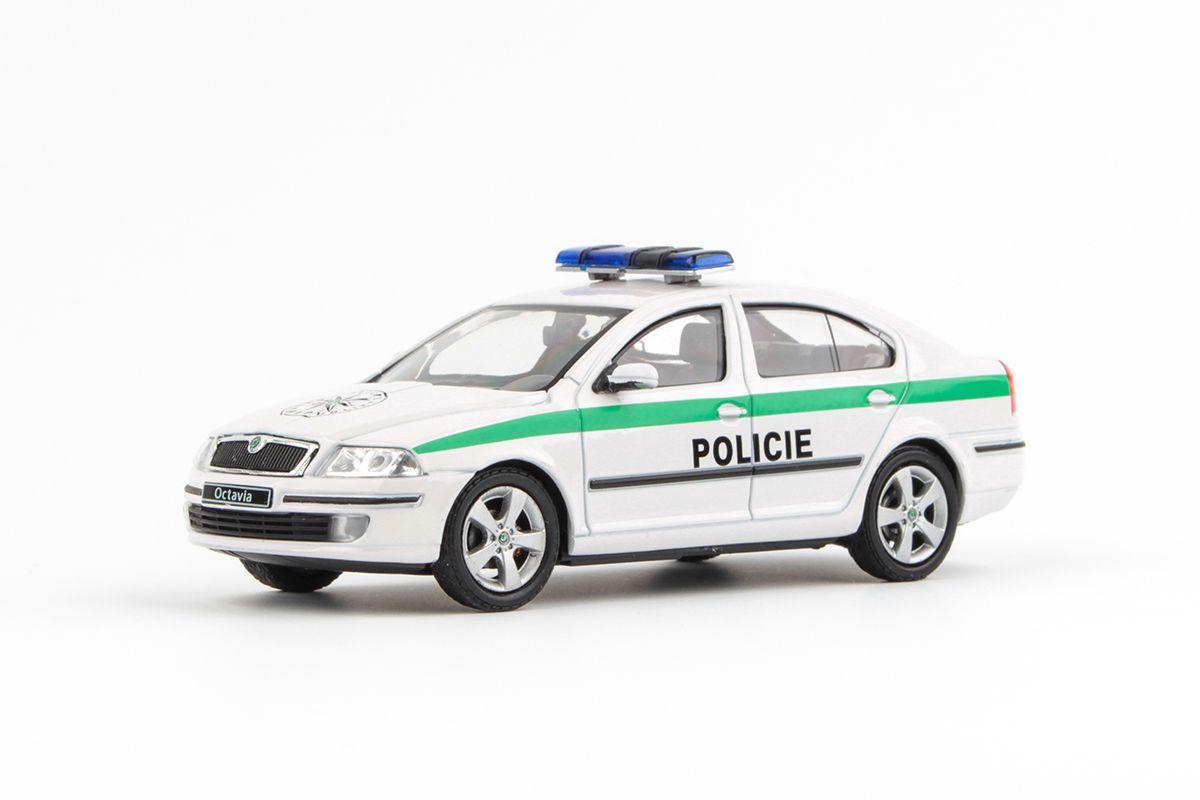 Škoda Octavia II (2004) 1:43 - Policie ČR