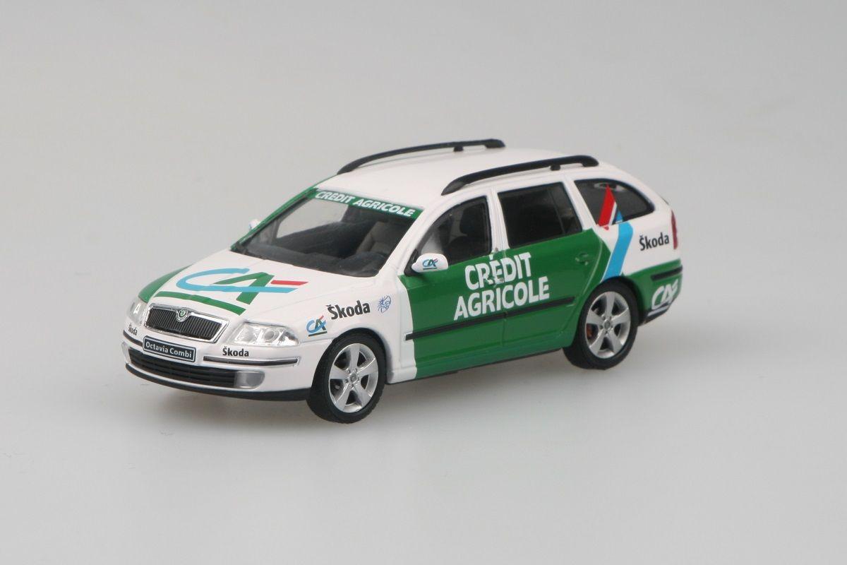 Škoda Octavia II Combi (2004) 1:43 - Credit Agricole