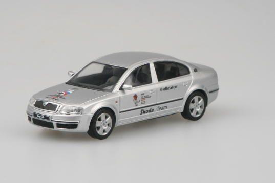Škoda Superb (2001) 1:43 - MS v Hokeji 2007