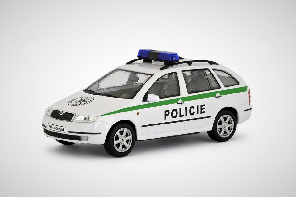 Škoda Fabia Combi (2000) 1:43 - Policie ČR