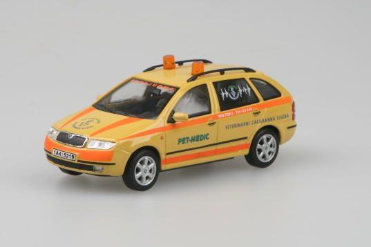Škoda Fabia Combi (2000) 1:43 - Pet Medic