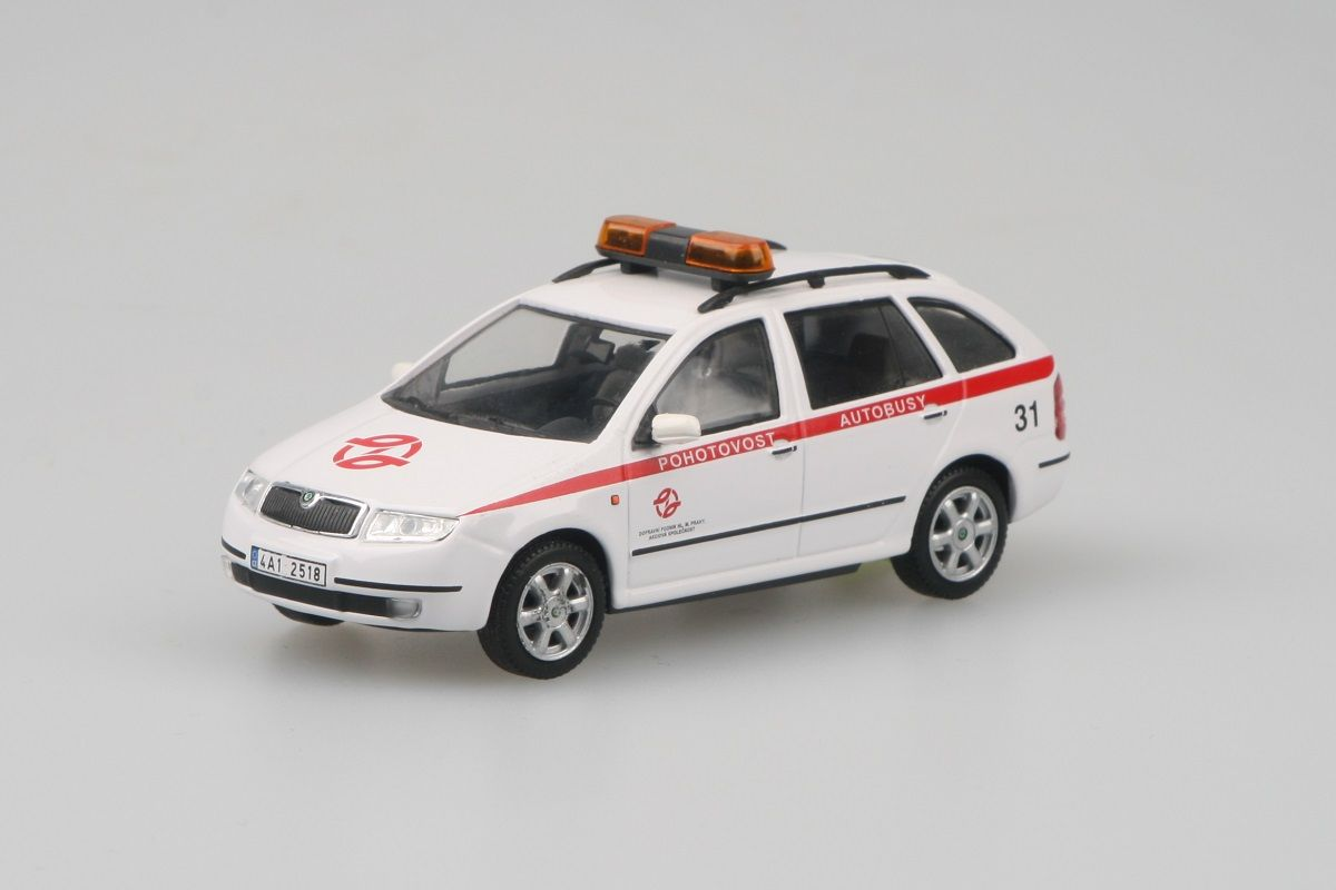 Škoda Fabia Combi (2000) 1:43 - DP hl.m. Prahy - Pohotovost Autobusy