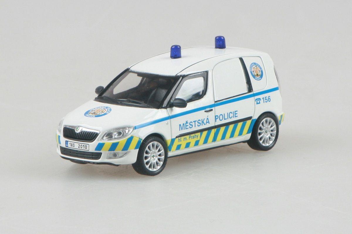 Škoda Roomster FL Praktik (2010) 1:43 - Městská Policie Praha