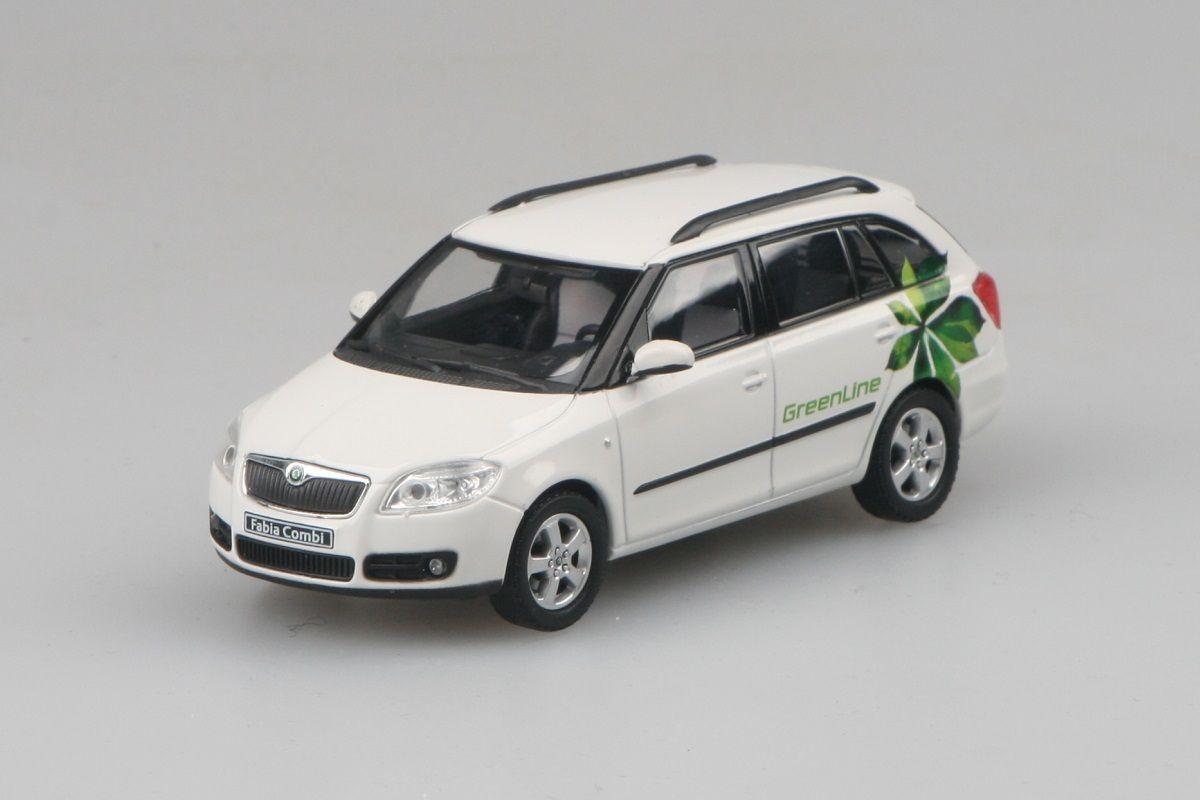 Škoda Fabia II Combi (2007) 1:43 - Green Line