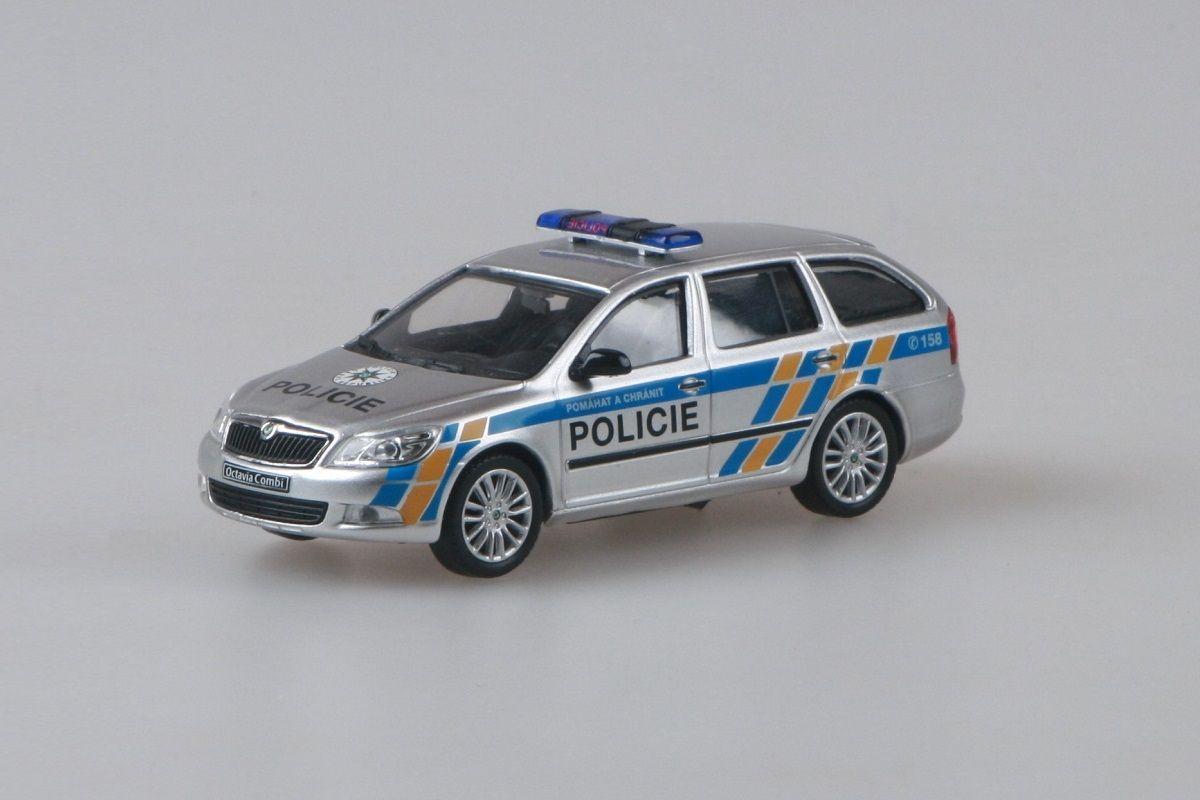Škoda Octavia II FL Combi (2008) 1:43 - Policie ČR