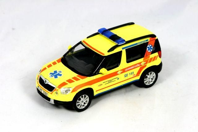 Škoda Yeti (2009) 1:43 - Záchranná Služba Plzeňského Kraje