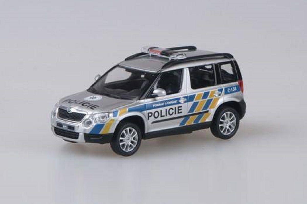 Škoda Yeti (2009) 1:43 - Policie ČR