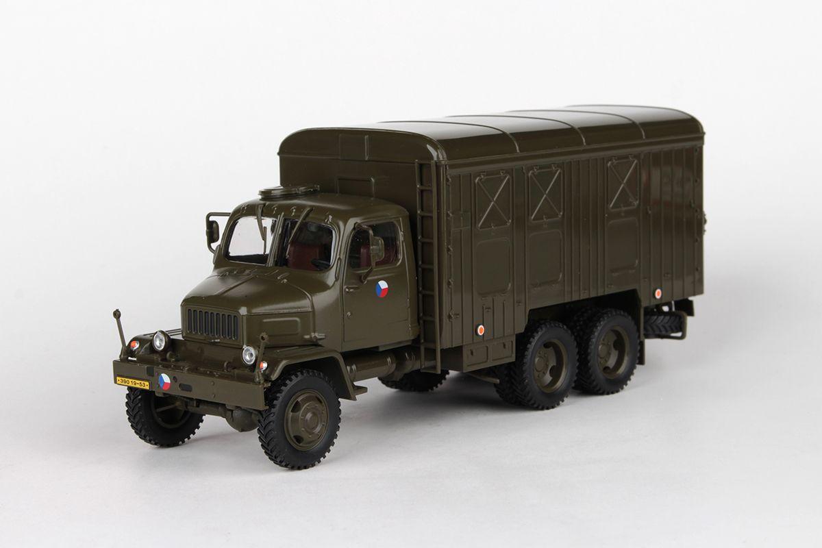 Praga V3S Skříňový Vůz (1967) 1:43 - Armáda ČR