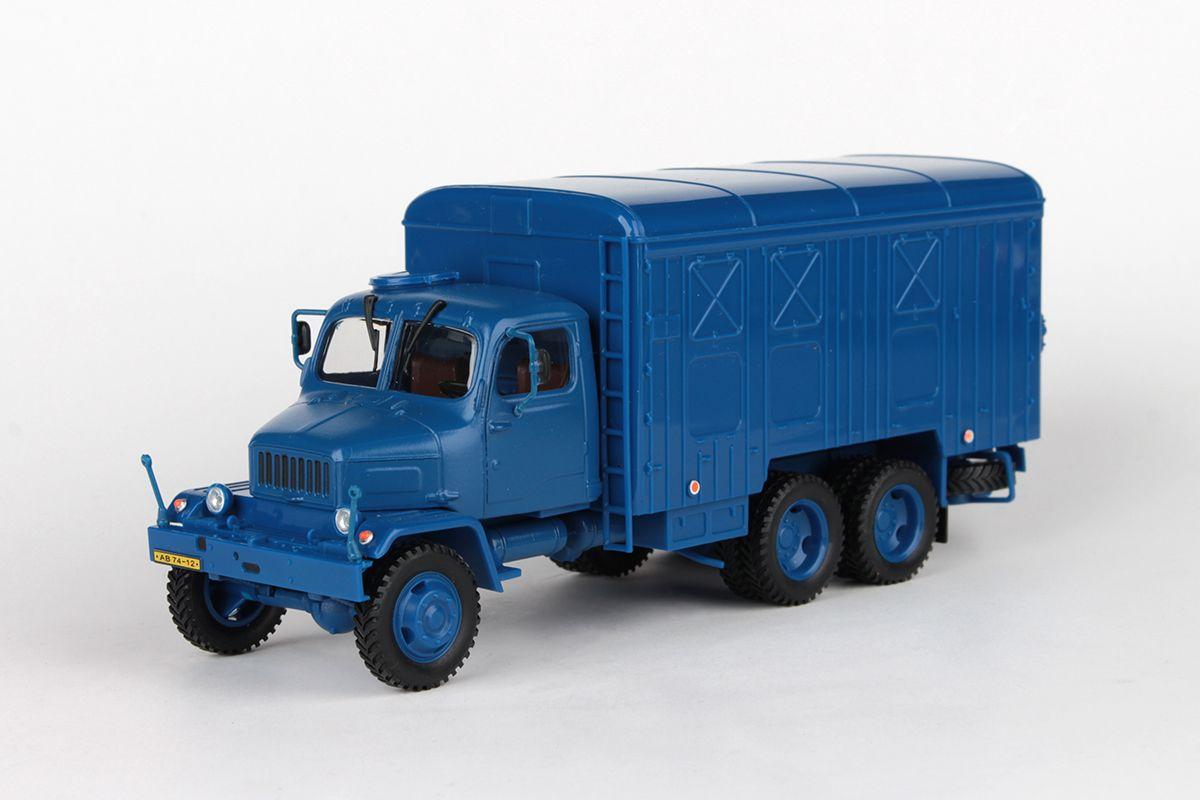 Praga V3S Skříňový Vůz (1967) 1:43 - Modrá