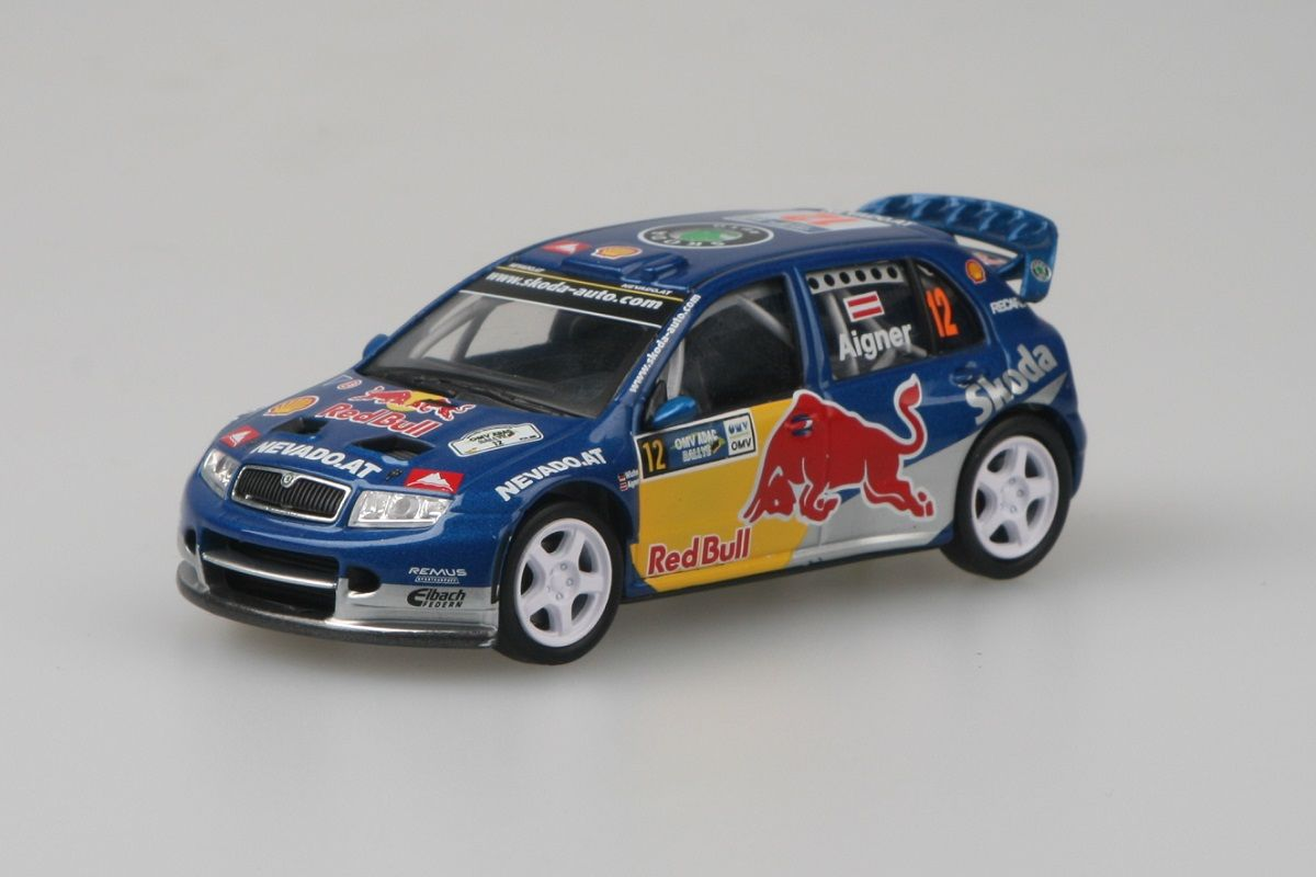 Škoda Fabia WRC (2005) 1:43 - OMV ADAC Rallye Deutschland 2006 #12 Aigner - Wicha