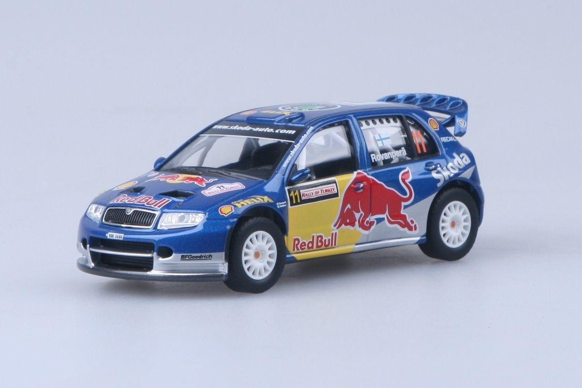 Kovový model Škoda Fabia WRC - Rally of Turkey 2006