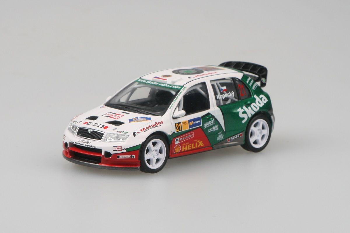 Škoda Fabia WRC (2005) 1:43 - RallyRACC Catalunya 2006 #21 Kopecký - Schovánek