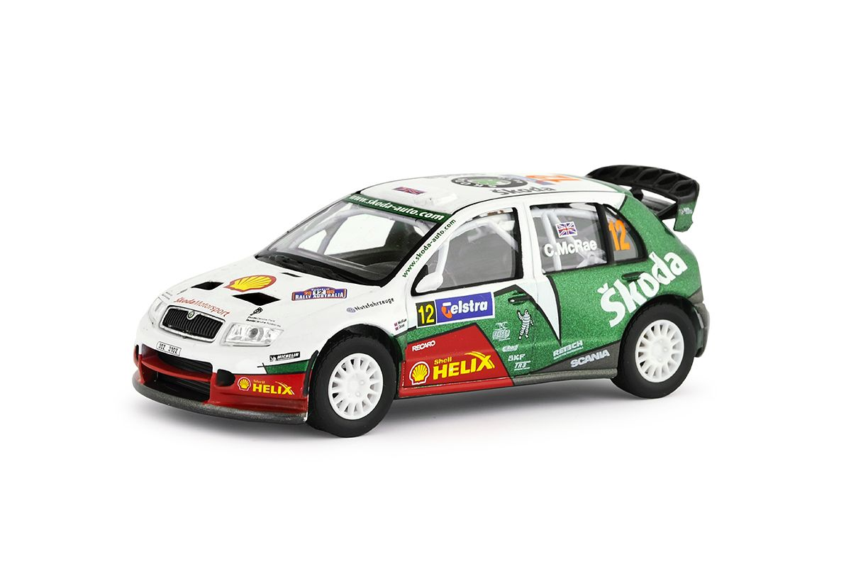 Škoda Fabia WRC (2005) 1:43 - Telstra Rally Australia 2005 #12 McRae - Grist