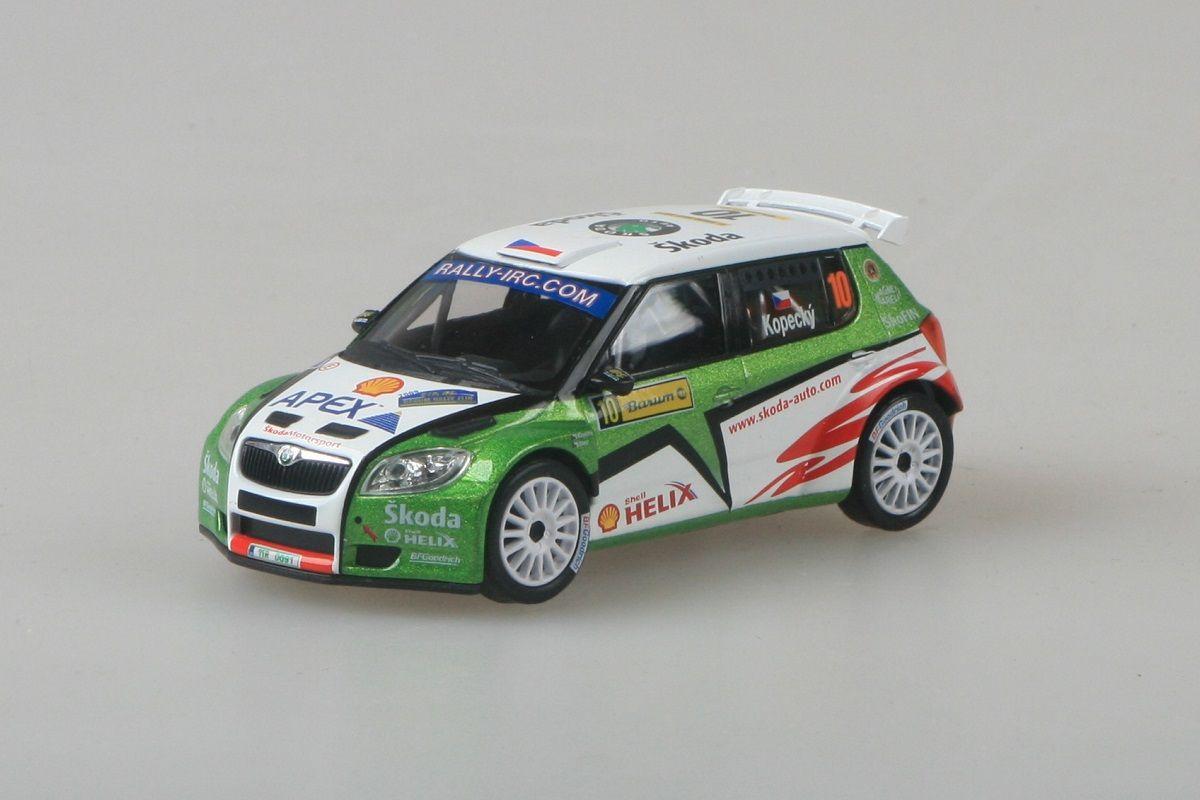 Škoda Fabia II S2000 (2009) 1:43 - Barum Czech Rally Zlín 2009 #10 Kopecký - Starý