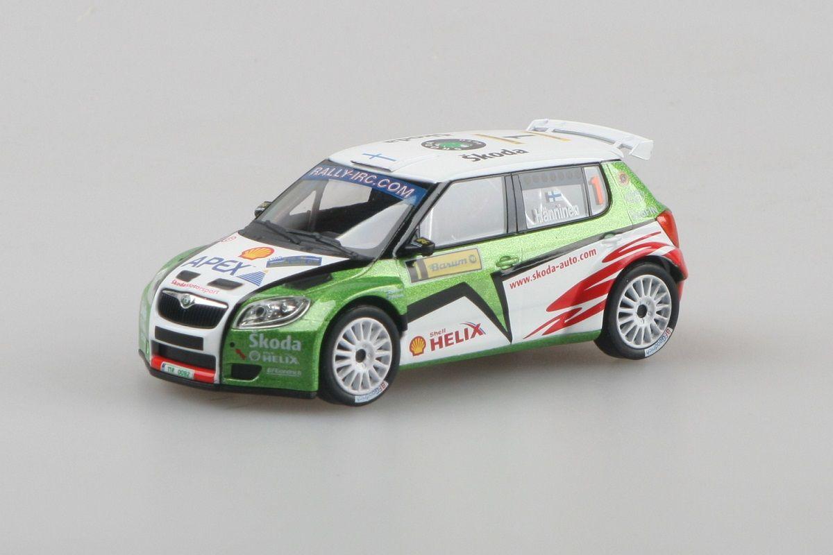 Škoda Fabia II S2000 (2009) 1:43 - Barum Czech Rally Zlín 2009 #1 Hänninen - Markkula