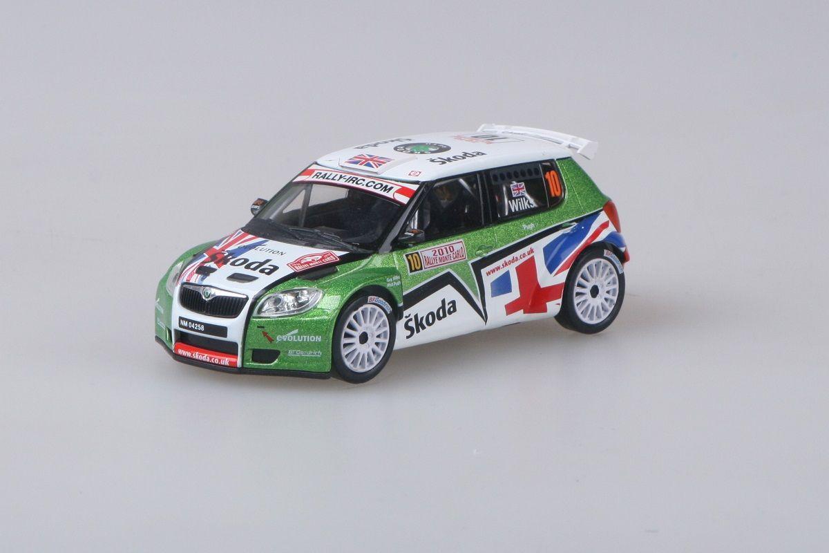 Škoda Fabia II S2000 (2009) 1:43 - Rallye Monte-Carlo 2010 #10 Wilks - Pugh
