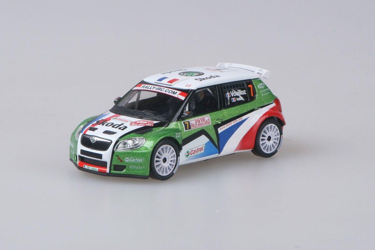 Škoda Fabia II S2000 (2009) 1:43 - Rallye Monte-Carlo 2010 #7 Vouilloz - Veillas