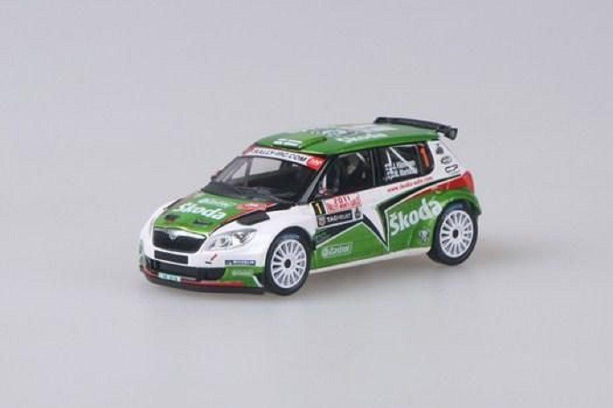 Škoda Fabia II FL S2000 (2010) 1:43 - Rallye Monte-Carlo 2011 #1 Hänninen - Markkula