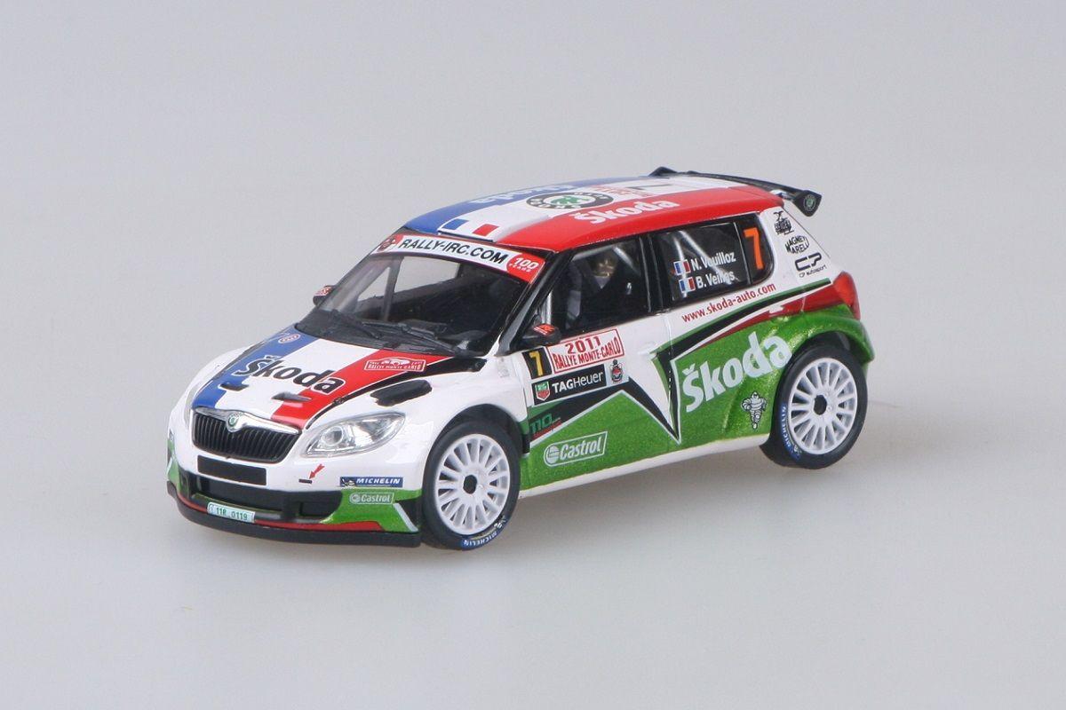 Škoda Fabia II FL S2000 (2010) 1:43 - Rallye Monte-Carlo 2011 #7 Vouilloz - Veillas