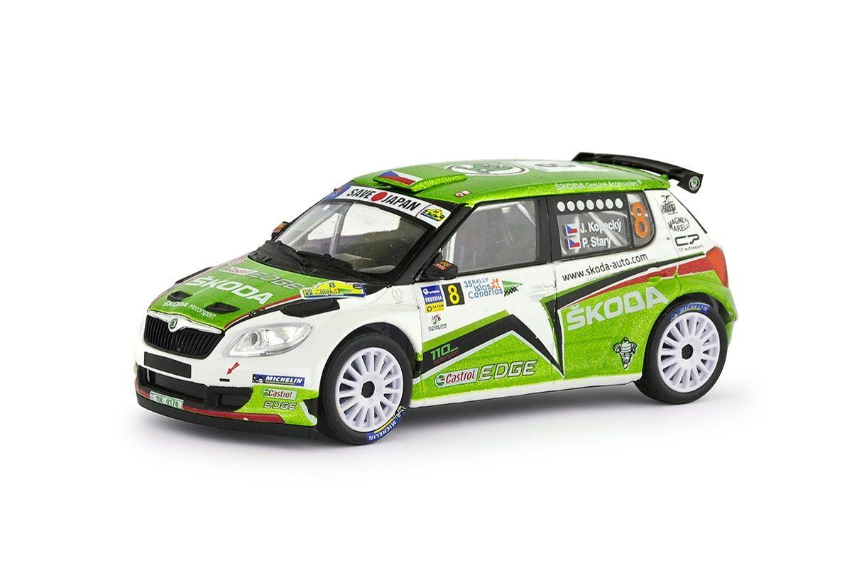 Škoda Fabia II FL S2000 (2010) 1:43 - Rally Islas Canarias 2011 #8 Kopecký - Starý