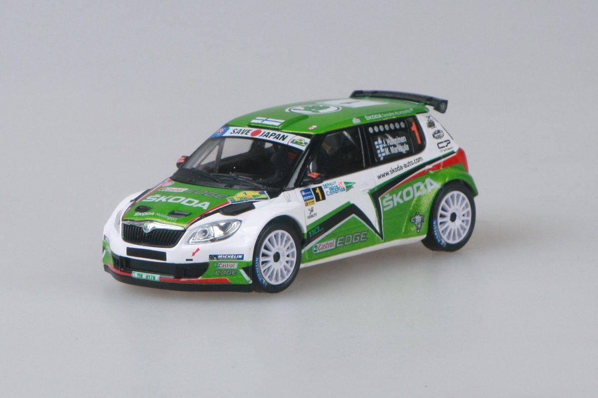 Škoda Fabia II FL S2000 (2010) 1:43 - Rally Islas Canarias 2011 #1 Hänninen - Markkula