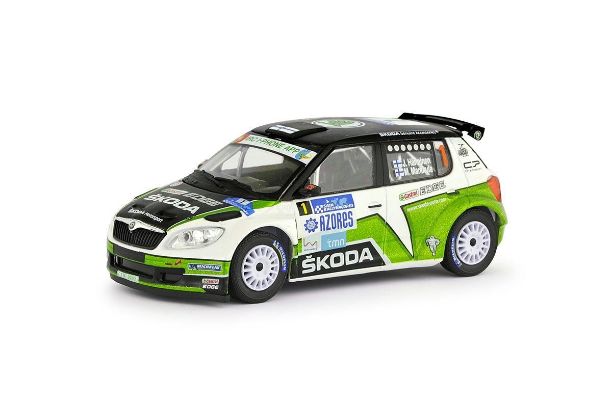 Škoda Fabia II FL S2000 (2010) 1:43 - SATA Rallye Acores 2012 #1 Hänninen - Markkula