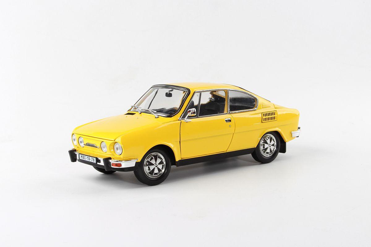 Škoda 110R Coupé (1980) 1:18 - Žlutá Sluneční